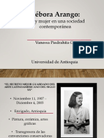 Unidad 7 Débora Arango - Vanessa Piedrahita