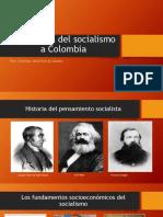 Unidad 6 La Llegada Del Socialismo a Colombia - Cristhian Jesid García