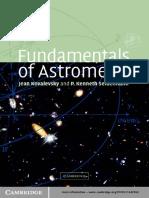 Jean Kovalevsky and P. Kenneth Seidelmann-Fundamentals of Astrometry-Cambridge University Press (2004)