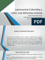 Unidad 6 Guerra Entre Colombia y Perú - Valentín Ospina