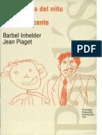 De La Lógica Del Niño a La Lógica Del Adolescente - Piaget