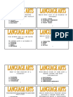 Language Arts Scoot Task Cards Fc