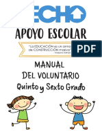 Manual Del Voluntario - Quinto y Sexto Grado