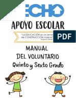 Manual Del Voluntario - Quinto y Sexto Grado