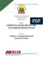 Modulo IV - Calidad y Competitividad de Los Servicios de Salud