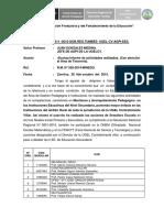 Informe 11 de Actividades a Tesoreria