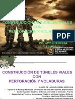 Construcción de túneles viales con Perforación y Voladuras, definitiva