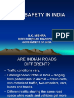 Road Safety India Ppt