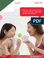 PruCash Double Reward Brochure