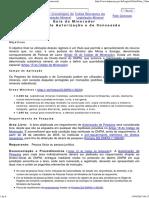 Guia Do Minerador - Regimes de Autorização e Concessão