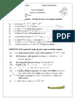 Teza La Matematica V