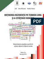Ghidul Pentru Obţinerea Cetăţeniei Române 2015