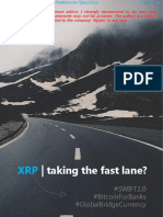 XRP - Taking the Fast Lane