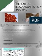 Tuberías de Alcantarillado Sanitario y Pluvial