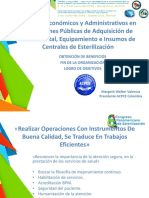 Aspectos Economicos y Administrativos en Instituciones Publicas de Adquisicion de Instrumental