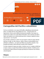 Pacifico Colombia Mapas Del Pacífico Colombiano - Pacifico Colombia
