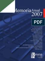 Memoria Reuna 2007