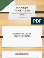 MANEJO SANITARIO