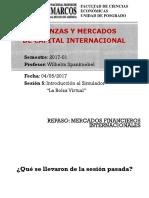 """Sesión 5_Introducción Al Simulador """"La Bolsa Virtual"""""""