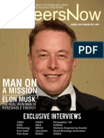 GineersNow Engineering Magazine Issue No. 004, Elon Musk