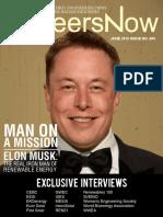 GineersNow Engineering Magazine Issue No. 004, Elon Musk