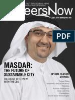 GineersNow Engineering Magazine Issue No. 005, Masdar and Robotics