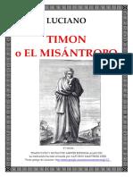 Timón o El Misántropo Ed.bilingue - Luciano
