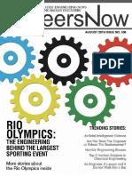 GineersNow Engineering Magazine Issue No. 006, Rio Olympics