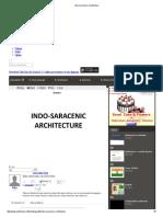 Indo Saracenic Architecture