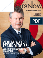 GineersNow Engineering Magazine Issue No. 007, Veolia Water Technologies
