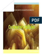 Sulfatos, carbonatos (1)