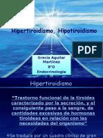 Hipertiroidismo, Hipotiroidismo,