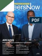 GineersNow Construction Leaders Magazine Issue 002,  Arcadis Construction