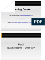 learning cmake