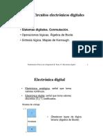 circuitos electrónicos digitales