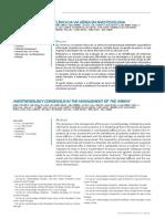 Consensos Na Gestão Clínica Da via Aérea Em Anestesiologia