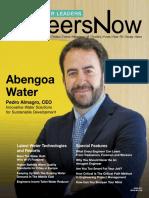 GineersNow Water Leaders Magazine Issue 002 - Abengoa Water