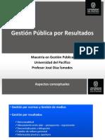 Sesion 1 - Gestión Pública Por Resultados