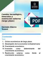 Cambio tecnológico, inversión y restricción externa.pptx