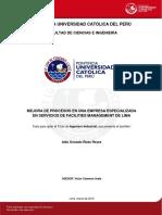 Rizzo Aldo Proceso Empresa Servicios Facilities Managemente