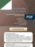 Psicoterapia Cognitiva Condutual en Grupo