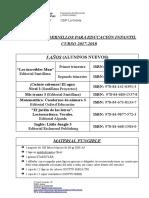 LIBROS y Material (5 Años Alumnos Nuevos) 17-18