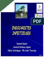Endocardites Infectieuses (R. ROUDAUT)