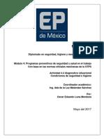 Actividad 4.4 Diagnostico Situacional Oscar Eduardo Luna Mendoza 25052017