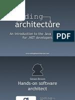 Dw2009 Java for Dotnet Developers