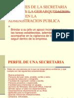 Funciones de La Secretaria