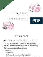 Proteínas, AA y Péptidos