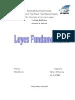 Diosmary Gamero-Leyes Fundamentales