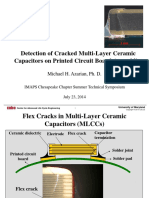 Detection of Cracked Multi-Layer Ceramic Capacitors on Printed Circuit Board Assemblies