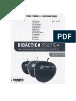 Fiori, e - Leymonié, j , Didáctica Práctica (2014) , Uruguay, Edit. Magro Contrato Didáct. Transposición Didáct.constructivismo